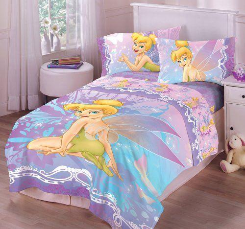 Tinkerbell Bed Sets | Toddler bed comforter, Disney ...