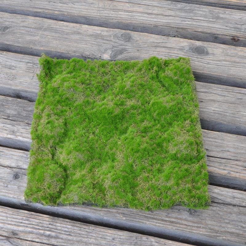 Pas Cher 30x30 Cm Artificielle Faux Mousse Decoratif Pelouse Gazon Vert Herbe Paysage Decoration Diy Mini Fee Jardin Simulation Plantes Gazon Pelouse Paysage