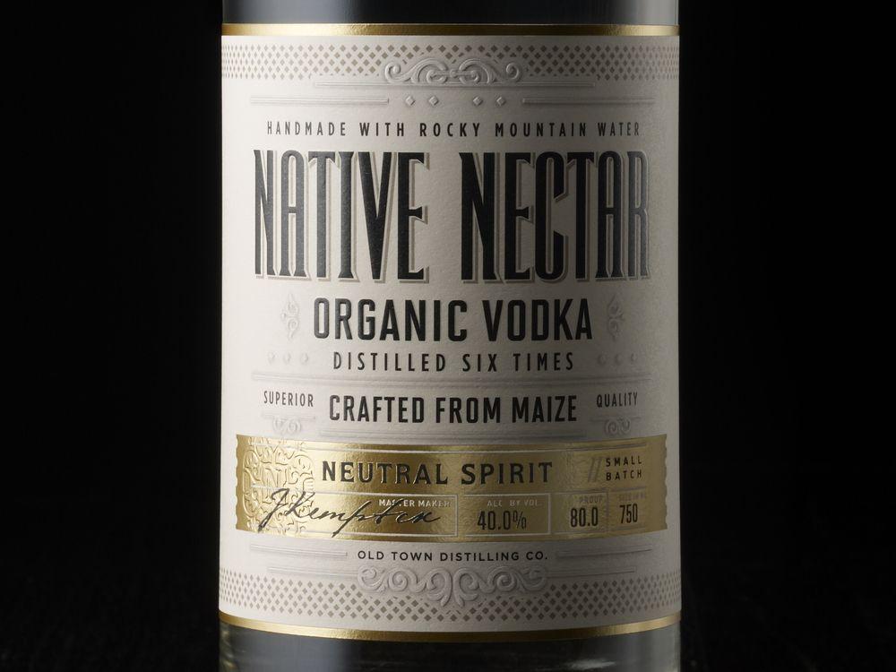 Native Nectar - Organic Vodka