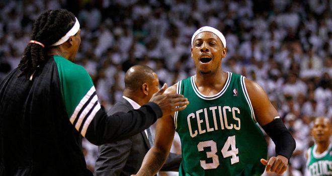 Paul Pierce Scored Crucial Three Pointer Late On Boston Celtics Celtic Sports