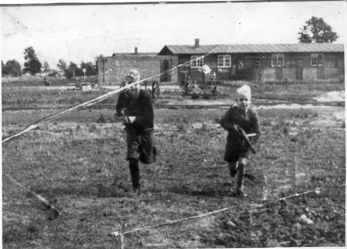 max pauly s two oldest sons in the stutthof concentration camp ca max pauly s two oldest sons in the stutthof concentration camp ca 1942