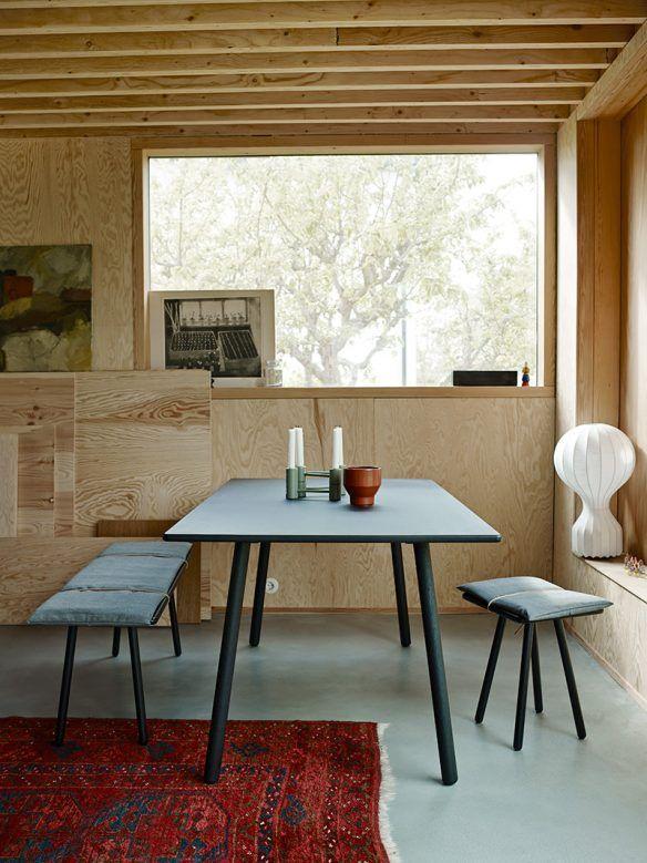catalogue skagerak 2016 une maison rnove malm tout en contreplaqu et sol ciment dining table