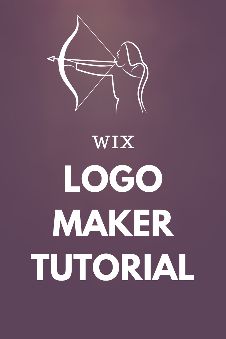 WIX Logo Maker Tutorial Logo maker, Logo design creative