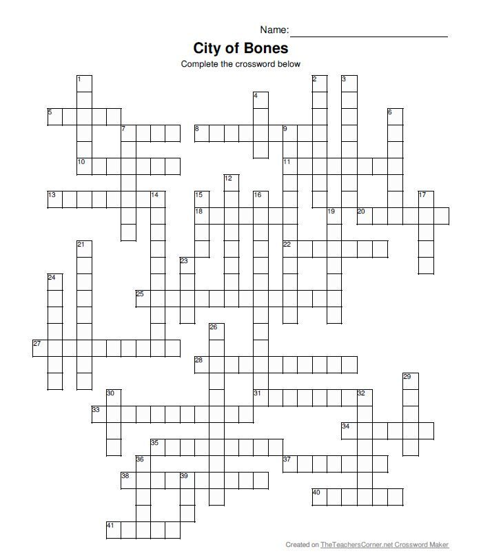 The Southern Angel — emily-tmi-minnesota: #Shadowhunters crossword...