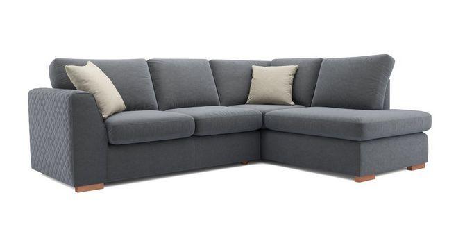 Tiki Left Hand Facing Arm Open End Corner Sofa Sherbet Dfs