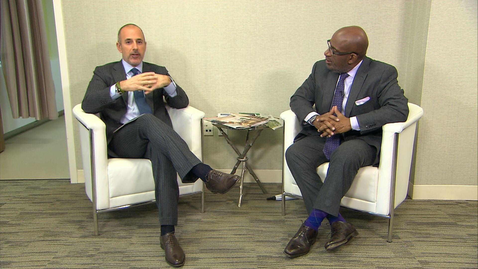 Matt Lauer, Al Roker have prostate exams live on