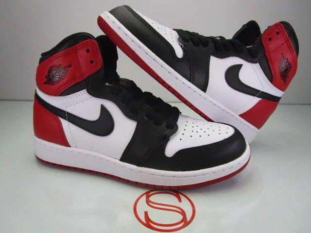 promo code 8bc58 b1c63 Nike Air Jordan I 1 Retro High OG BLACK TOE 4.5Y  fashion  clothing  shoes   accessories  kidsclothingshoesaccs  unisexshoes (ebay link)