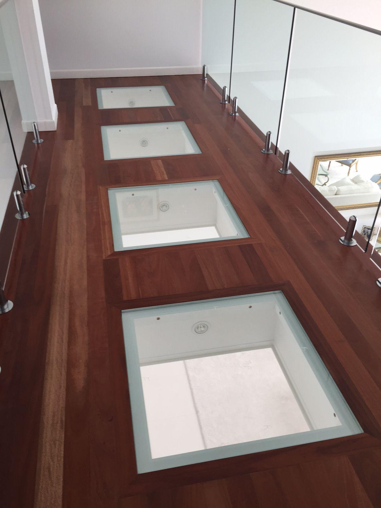 Glass and timber in great bination glassfloor floorfeature glassbalustrade