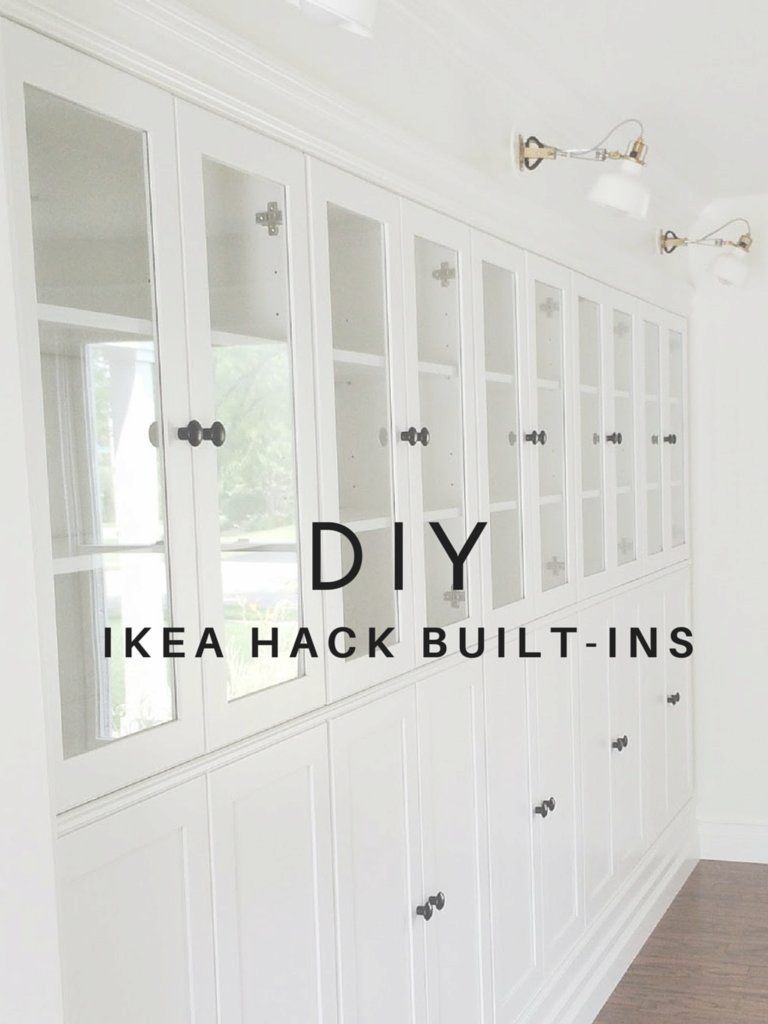 This Genius Ikea Hack Adds Loads Of Storage Ikea Built In Ikea