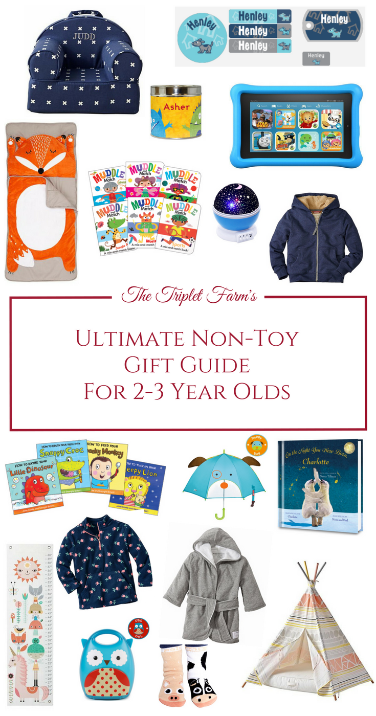 the ultimate non toy gift guide for 2 3 year olds via the triplet farm