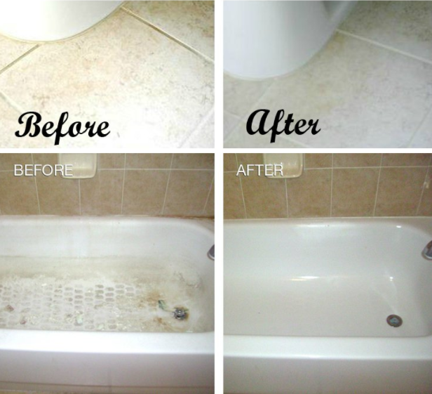 Show Your Bathroom Some Love With Baking Soda Vinegar And