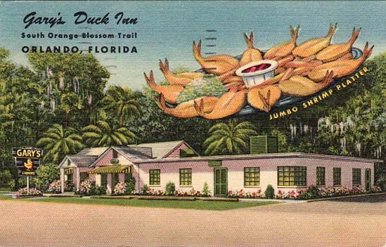 Gary S Duck Inn Restaurant On Orange Blossom Trail This Was The