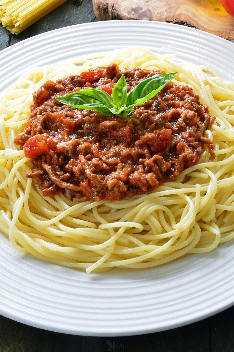 Spaghetti With Chicken Bolognese Recipe - The Daring Gourmet |Spaghetti Bolognese Chicken