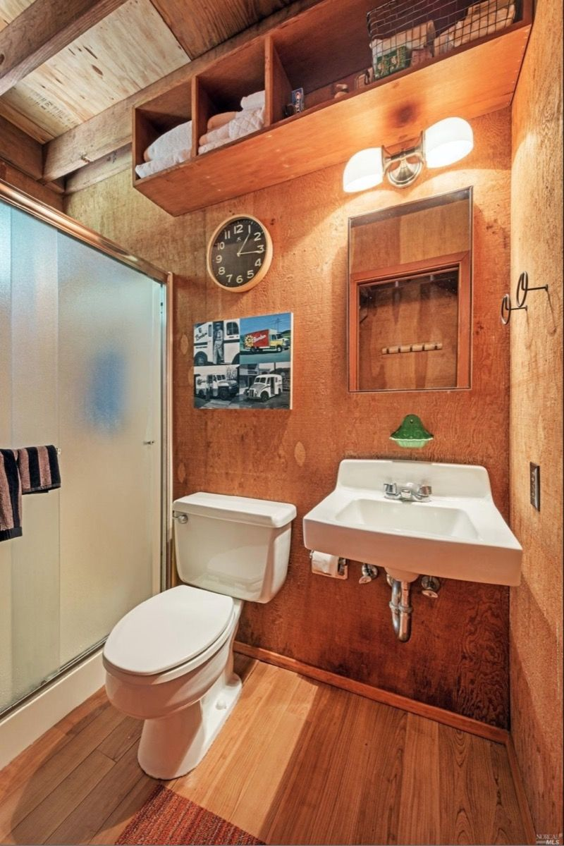 Beautiful tiny cabin at the sea ranch for sale also sq ft home ideas rh pinterest