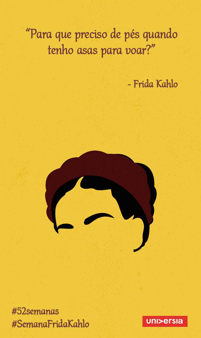 Faça Como Frida Kahlo E Acredite Em Você Mesmo Frida Quotes
