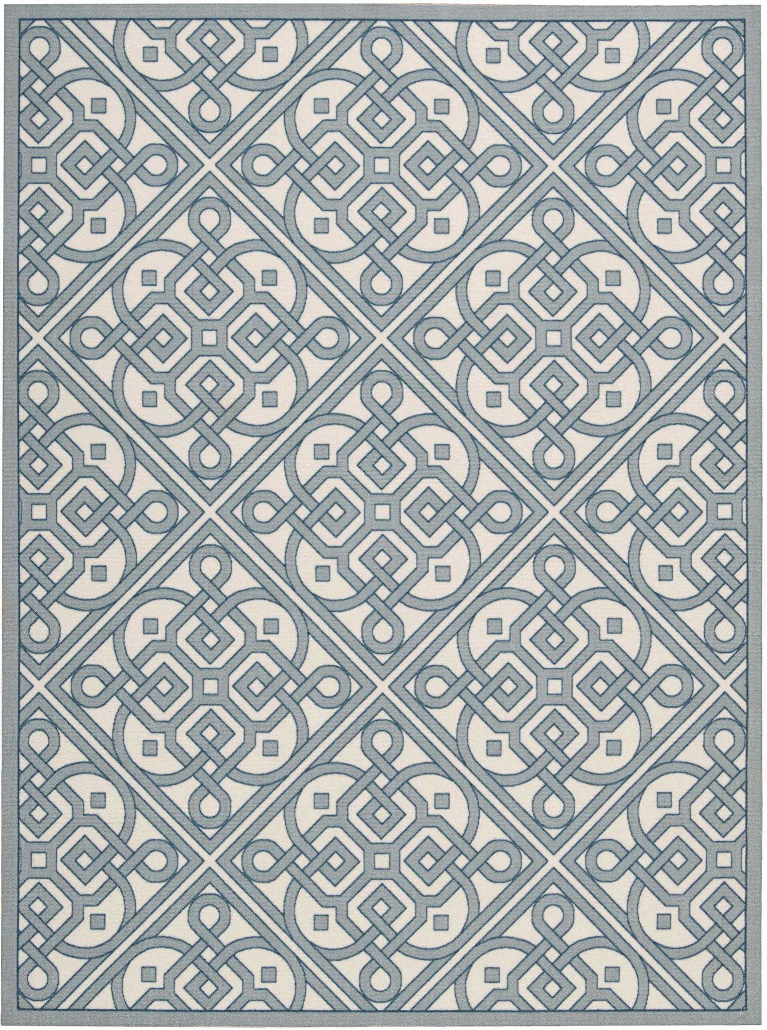 Nourison Sun And Shade Lace It Up Area Rug In 2020 Indoor