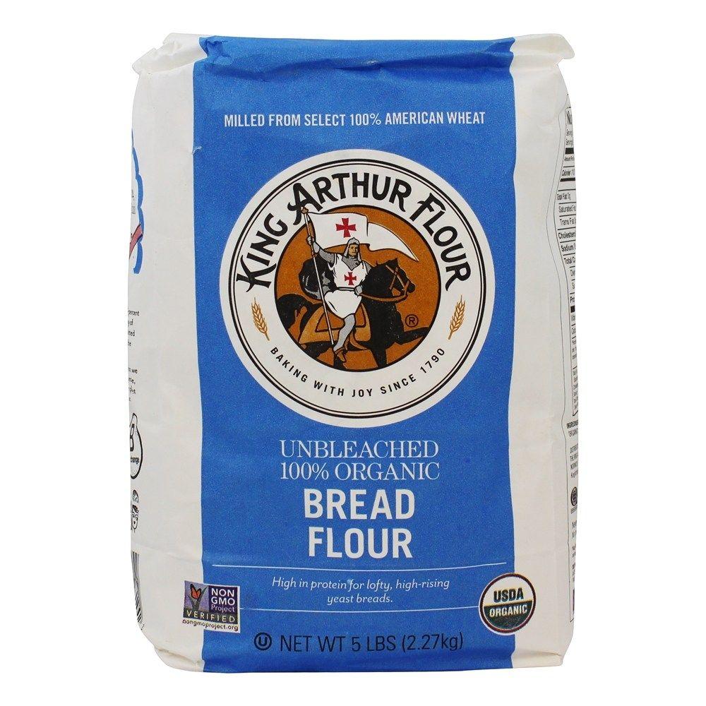 Unbleached 100% Organic Bread Flour