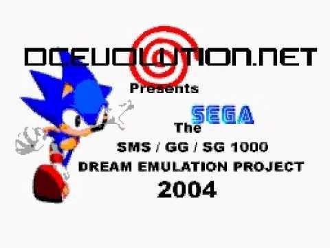 Cute 8-bit intro for Sega Master System