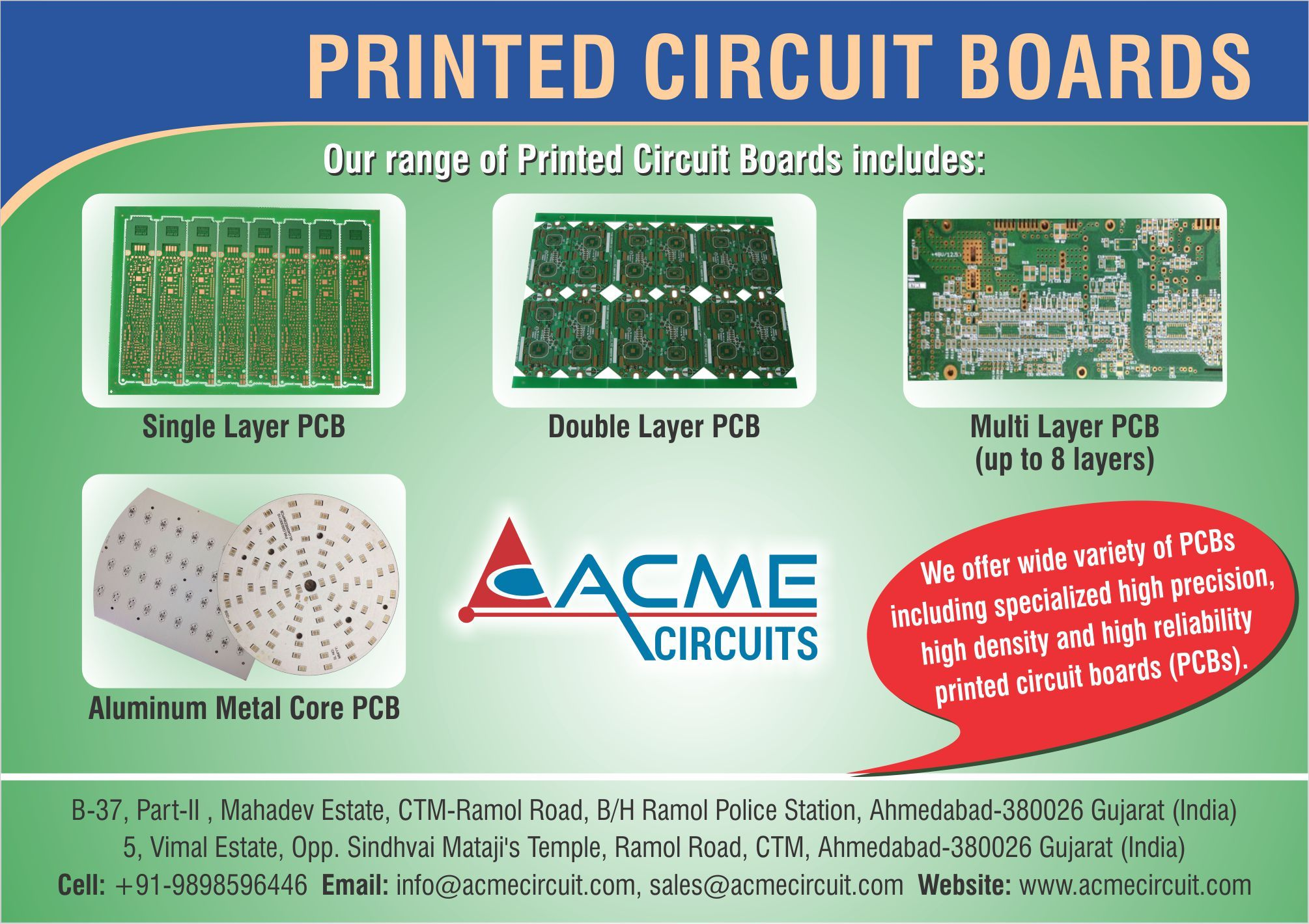 We are a prominent manufacturer, supplier and exporter of