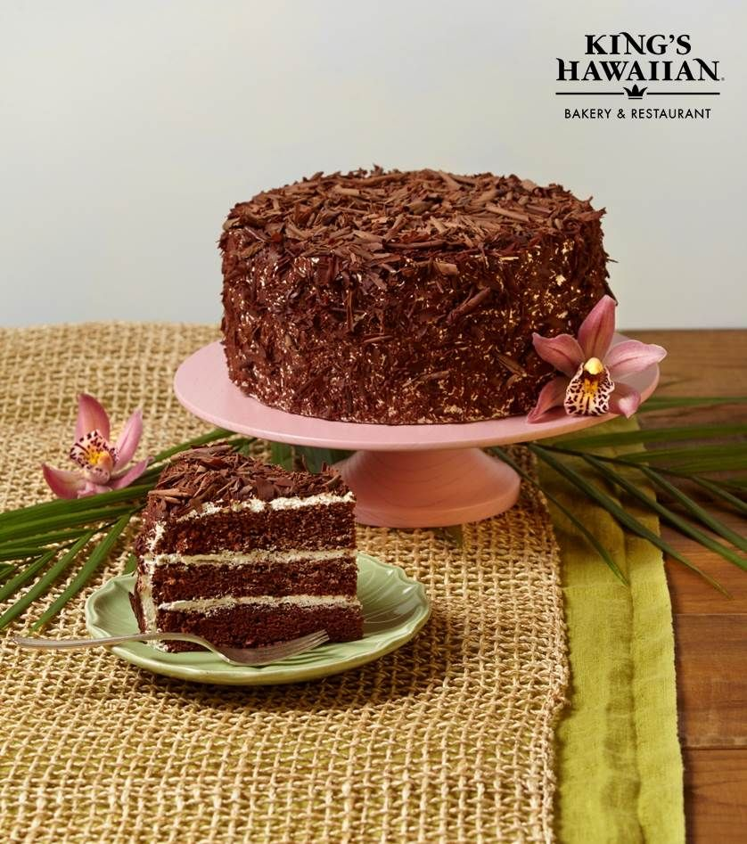 kings hawaiian cake king s hawaiian cake chocolate ono delicious 5319