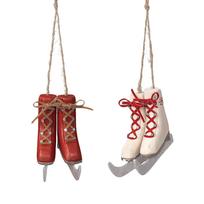 Ice Skate ornaments :) (With images)   Ice skate ornaments ...