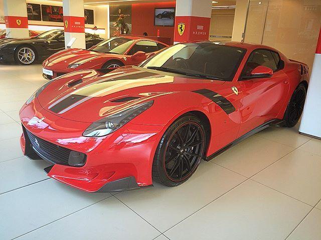 #liveupload Ferrari F12 TDF Live At Ferrari Old Brompton Road!