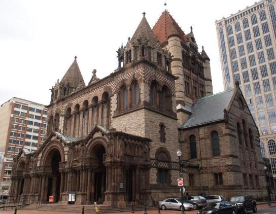 Trinity Church by Henry Hobson Richardson