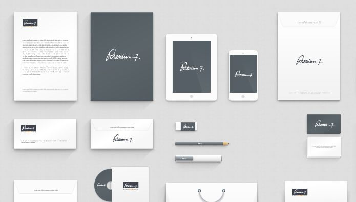 20 Free Branding Corporate Identity Mockup Templates