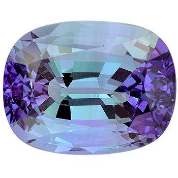 Bi-Color Tanzanite - Goudsmidmargriet.com verwerkt mooie edelstenen in een sieraad!