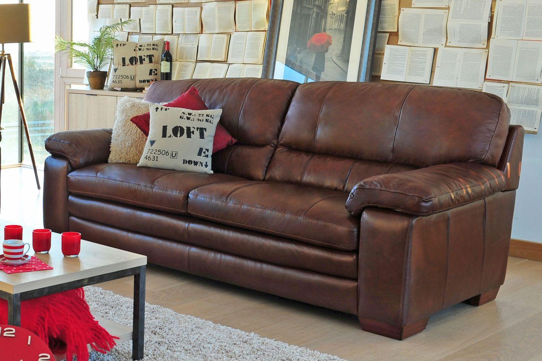 Lumina 3 Seater Leather Sofa From Harvey Norman Ireland Photoshoot Pinterest Leather Sofas