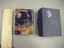 Pittsburgh Steelers Crystal Paper Weight - Collectible...