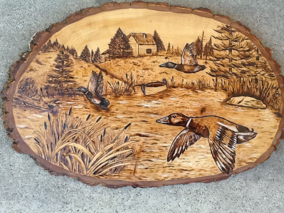 wood burning craft ideas duck www pyroyankee nature pyrography 5751