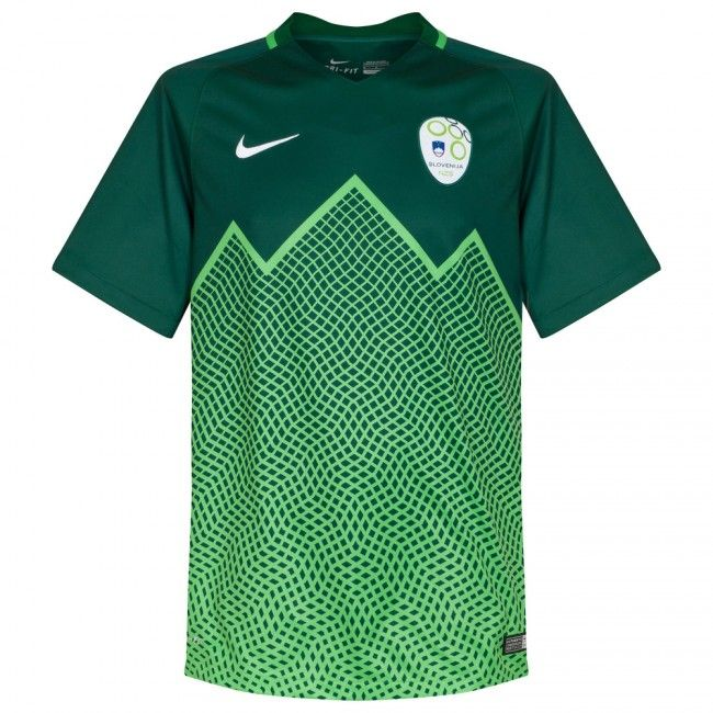 e33faa0b6ad75 Camiseta de Eslovenia 2016-2017 Visitante  Eurocopa2016  Euro2016 ...