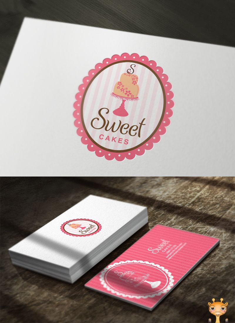 Business Cards Baking New Logo For Sale