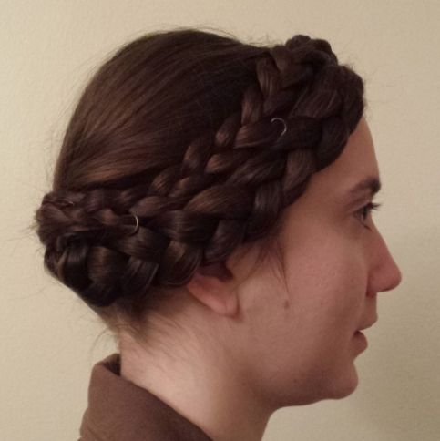 Recreating Veils And Hairstyles Of The Middle Ages 14th Century