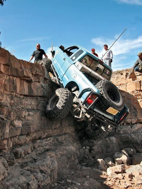 This Doesn T Look Like As Much Fun Lol Toyota Tacoma Toyota For Life Trucks Toyota Trucks Offroad Trucks