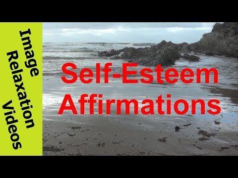 Self-Esteem Affirmations By Beach Ocean Waves - Positive