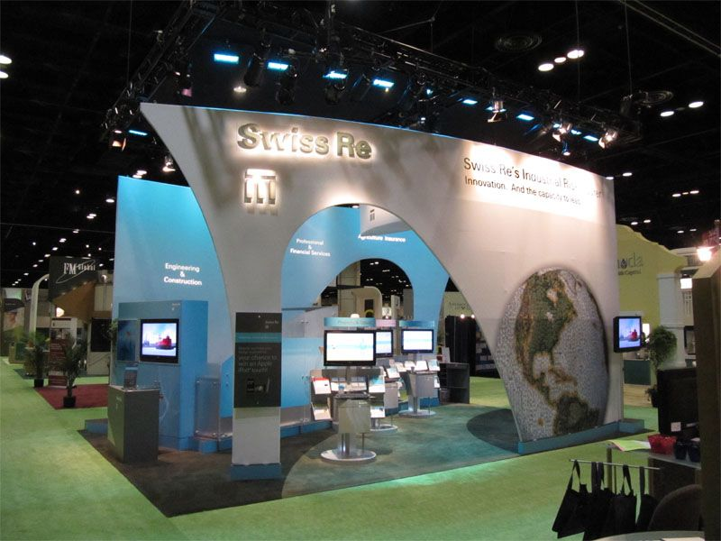 Swiss Re S Trade Show Booth