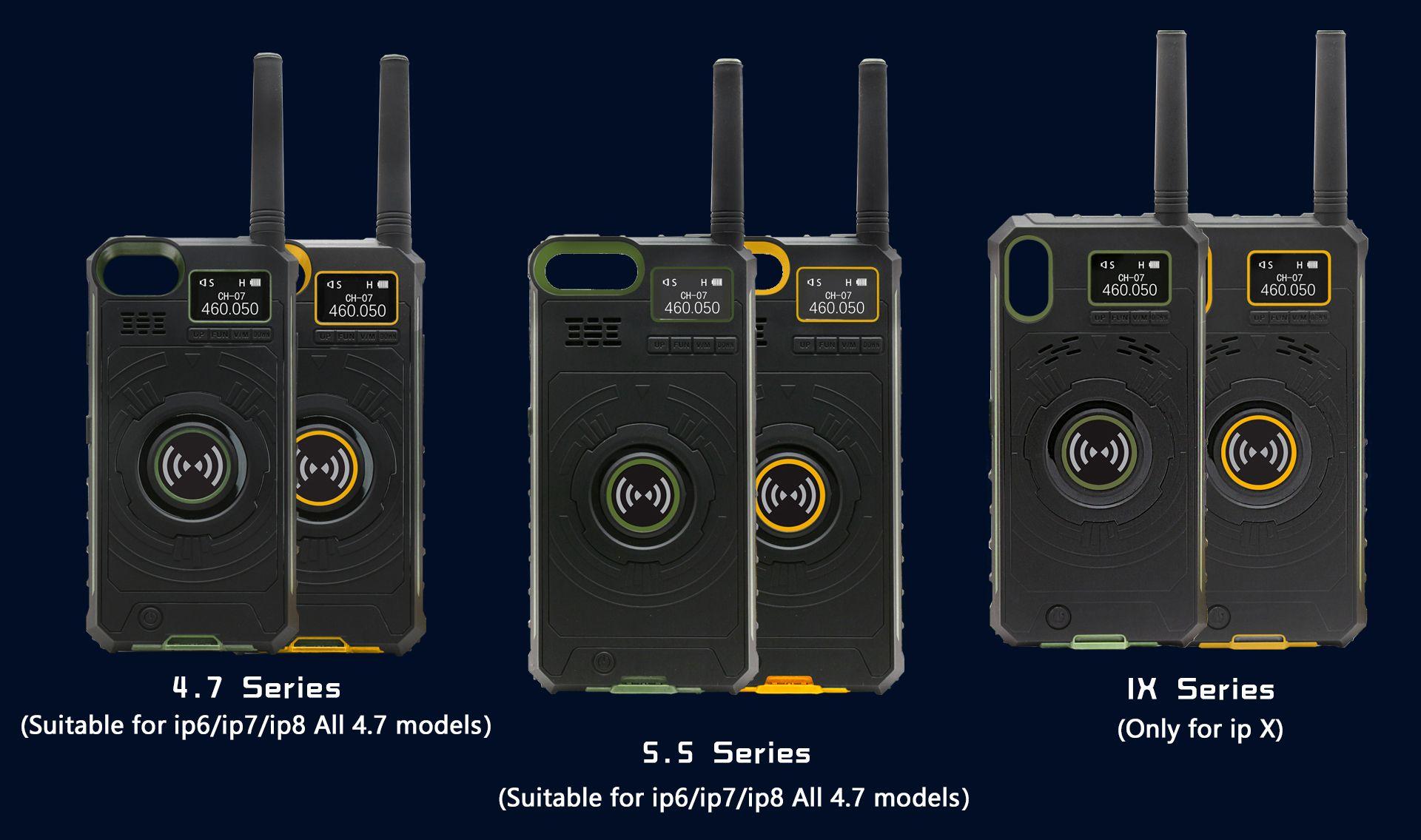 NO.1 Multifunctional Wireless Handheld Walkie Talkie