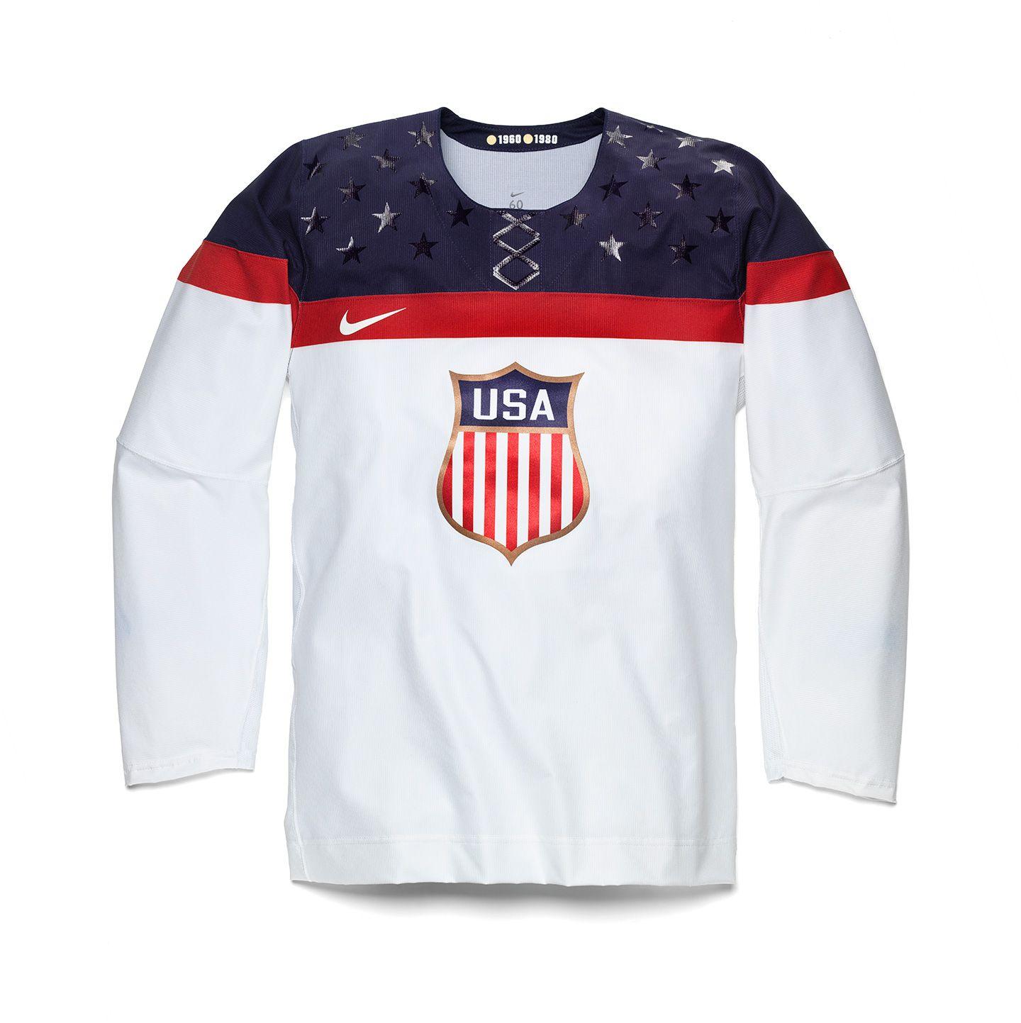 Nike 12ozprophet Olympic Hockey Hockey Jersey Usa Olympics