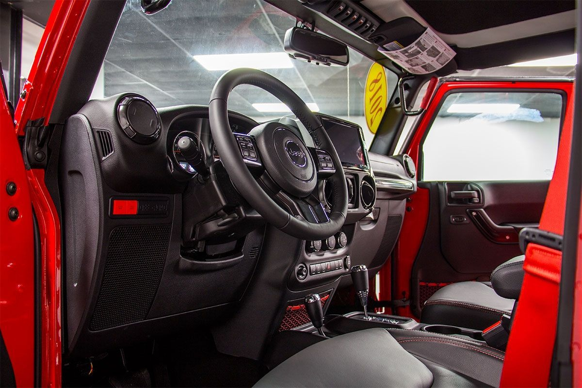 2018 Jeep Wrangler Rubicon Recon Unlimited Red Wrangler