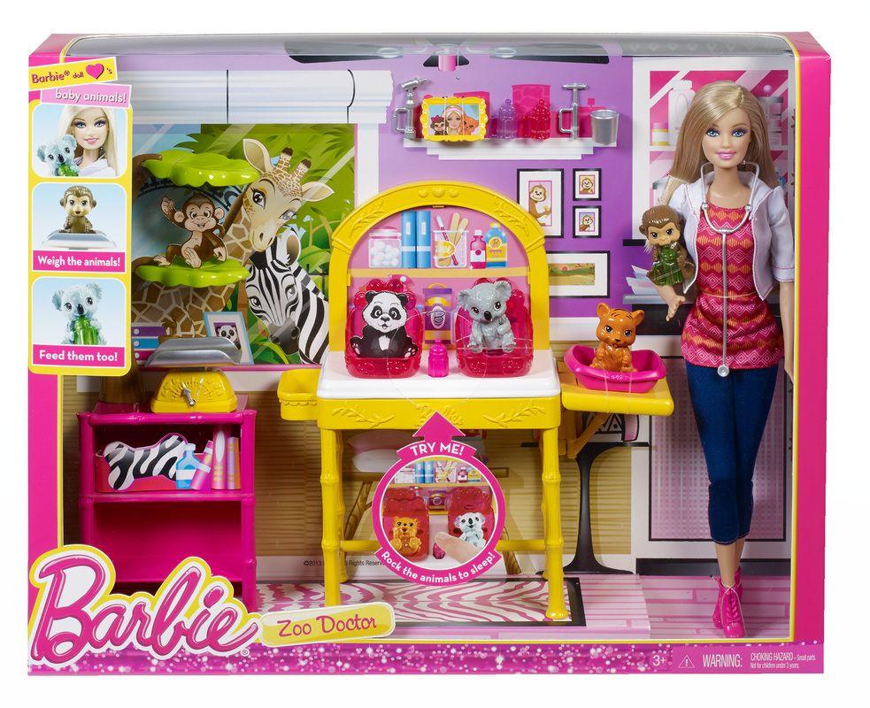 Barbie Zoo Doctor Playset Kaitlyn Birthday Wishlist Pinterest - walmart careers