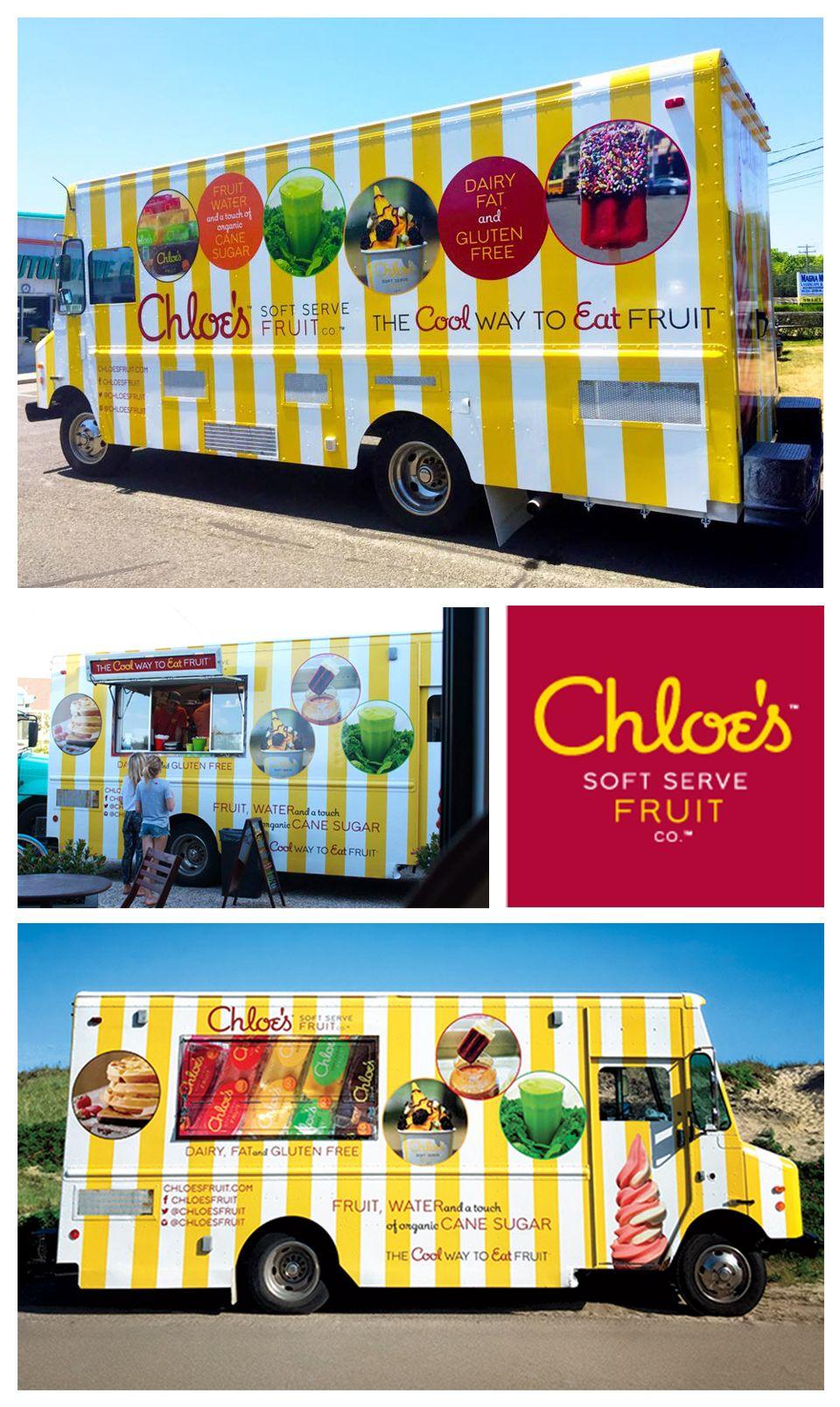 Chloes soft serve fruit food truck ny vending
