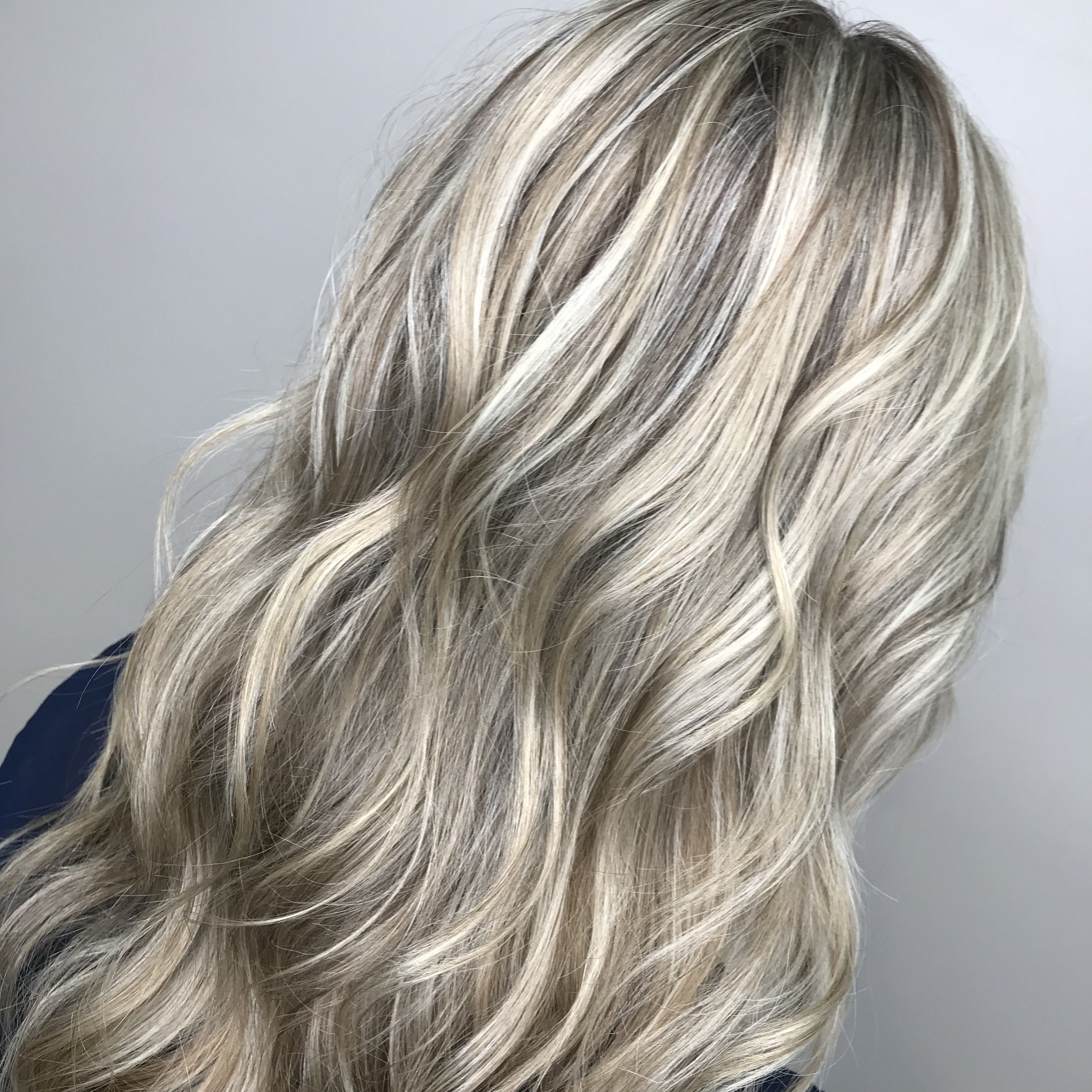 Heavy Highlights Platinum Blonde Highlights Blonde Highlights Heavy Blonde Highlights