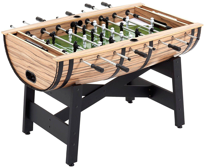 Silver Grey Mightymast Leisure 5ft LUNAR Table Football Foosball
