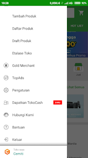 Cara Mendapatkan Bonus Tokocash Menggunakan Tokopedia Refferal Cemiti Aplikasi Hubungan Produk