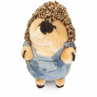 PETMATE HEGGIES PLUSH FARMER HEDGEHOG - BD Luxe Dogs & Supplies