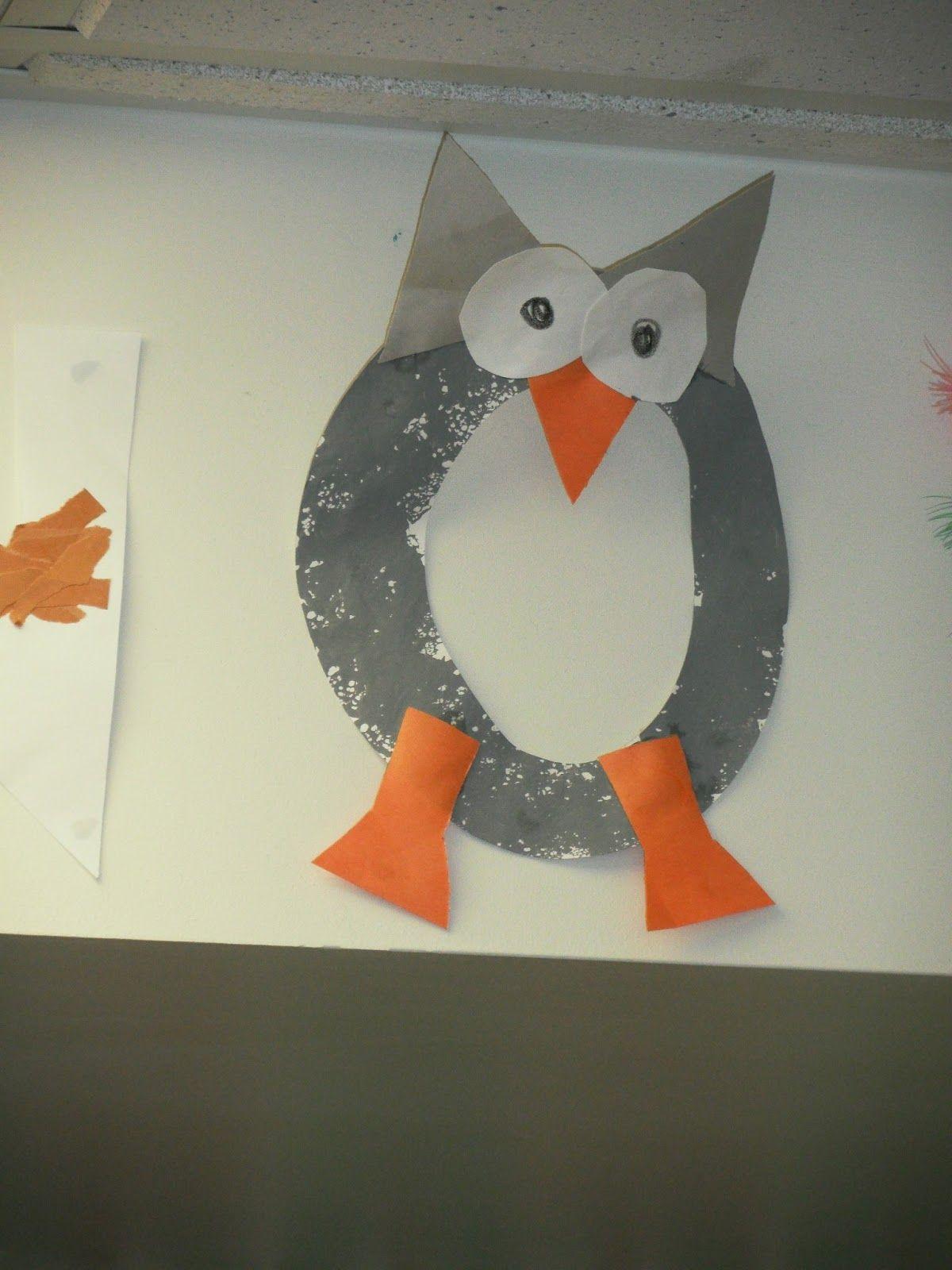 Letter O Owl Art