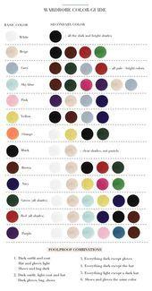 Definieren Sie Ihre Kleidung Und Stil Mit Den Farben Theorie