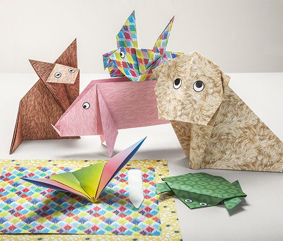Origami zvieratká :)